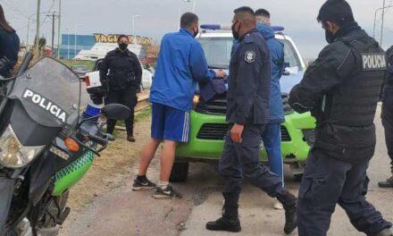 APREHEDIDOS POR TENENCIA DE ESTUPEFACIENTES EN EL INGRESO AL ARCO