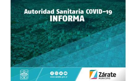 Centros de Aislamiento: Zarate Municipio advierte sobre falsas noticias que han circulado.