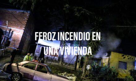 INCENDIO EN SAAVEDRA AL 800