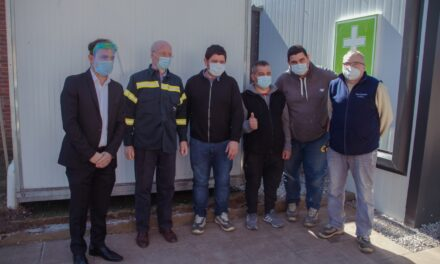 El Intendente reconoció el trabajo del equipo de mantenimiento del Hospital San José