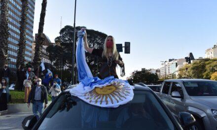 """Desde el Frente Grande definieron como """"una total irresponsabilidad"""" la marcha del lunes"""