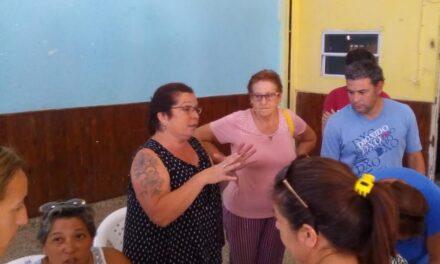 Desde la sociedad de fomento de San Jacinto destacaron las mejoras que realizó el Municipio en el barrio