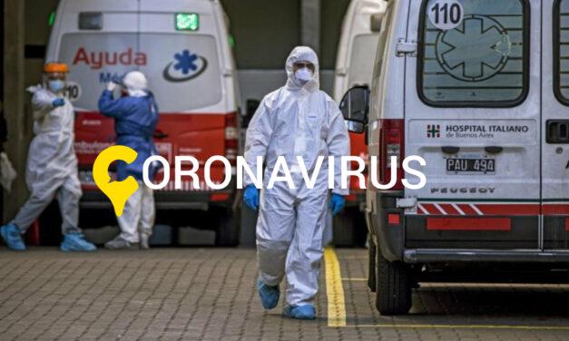 Coronavirus: Se notificaron 470 en 24 horas y el total roza las 14 mil