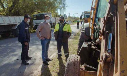 Los Pioneros: el Municipio realiza un operativo intensivo de recolección