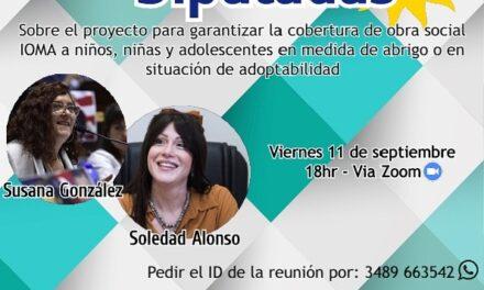 Conversatorio virtual entre las Diputadas Soledad Alonso y Susana González