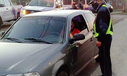 Continúan los operativos de control vehicular en la ciudad