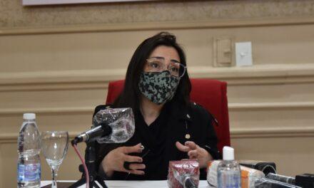 Casaretto recordó que las sesiones del HCD son sin público