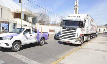 Tránsito pesado: el Municipio intensifica los operativos de control