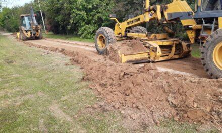 El Municipio realiza tareas de mantenimiento integral en la zona de Los Cardales