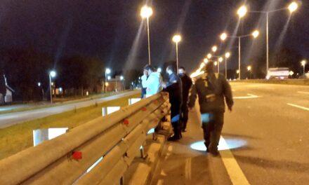 Otro joven intentóquitarse la vida en el puente del B° Lubo