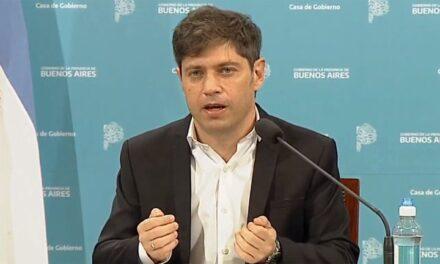 """Axel Kicillof: """"Hasta que no haya vacuna, vamos a tener que seguir la cuarentena con la misma dinámica"""""""