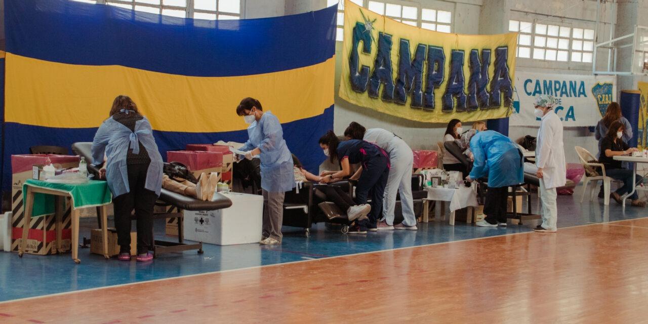 Una gran cantidad de vecinos se sumó a la 4° Campaña de Donación de Sangre