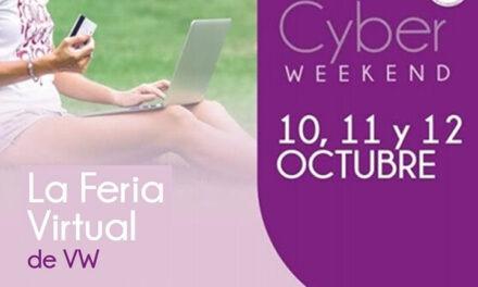 Se viene el Cyber Weekend 10, 11 y 12 de Octubre.