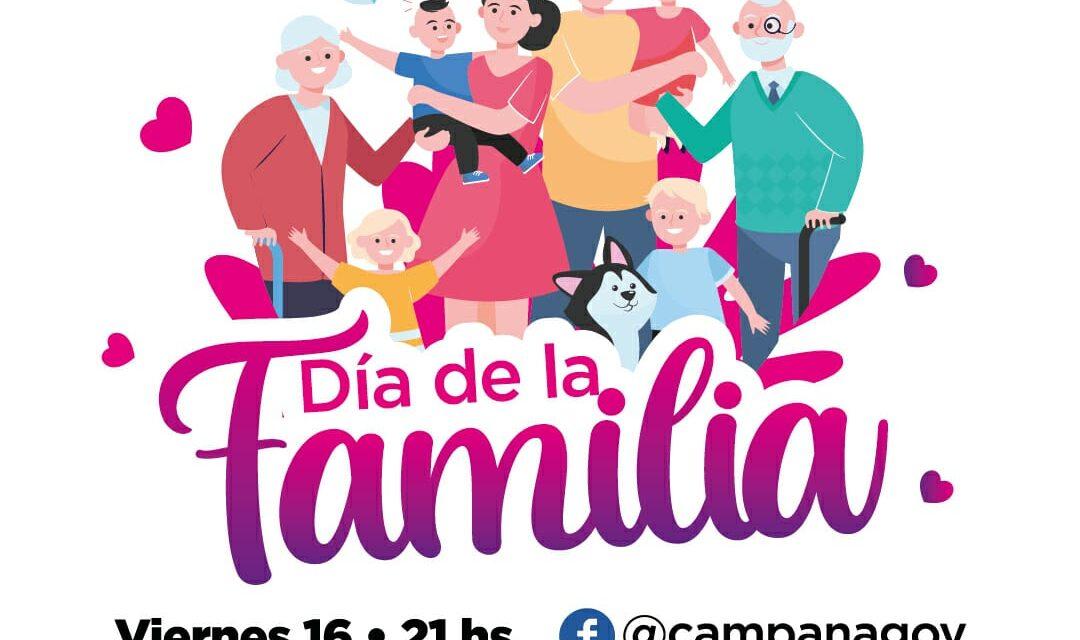 El Municipio celebra el Día de la Familia con una transmisión especial por Facebook
