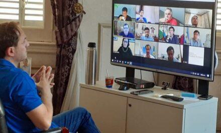 Con foco en la situación social, Abella tuvo una reunión virtual con el ministro Arroyo