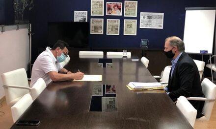 Zarate: Cáffaro firmó la escritura definitiva de titularidad del predio donde funciona el Campo Social y Deportivo Municipal