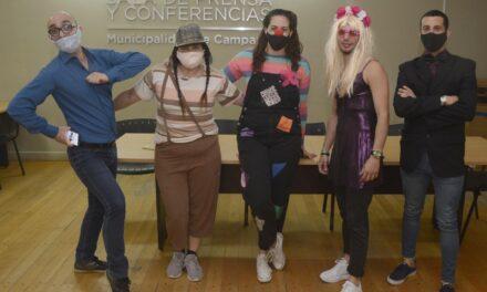La Dirección de Deportes realizó un divertido concurso de disfraces