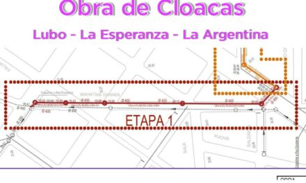 En 30 días comienzan las obras para que Lubo, La Esperanza y La Argentina tengan cloacas