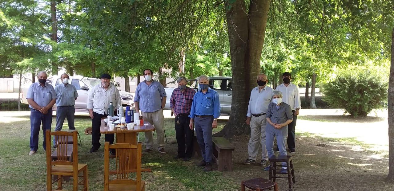 El Diputado Bugallo visitó campana y se encontró con productores del Delta Campanense.