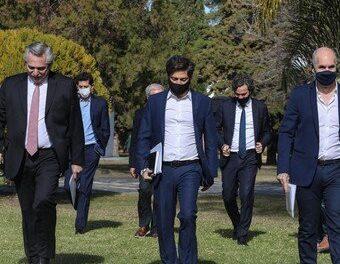 """¿Hacia la """"nueva normalidad""""?: Alberto Fernández define el futuro del AMBA con Larreta y Kicillof"""