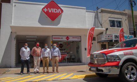 Abella celebró la llegada de una nueva empresa de salud a la ciudad