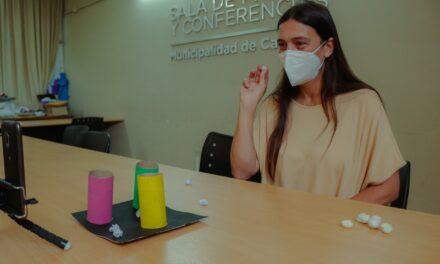 """Elisa Abella lanzó el programa """"parazoomlimpico 2020"""""""