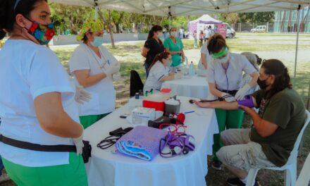 Con una amplia convocatoria, se realizó la Campaña por el Día Mundial de Diabetes