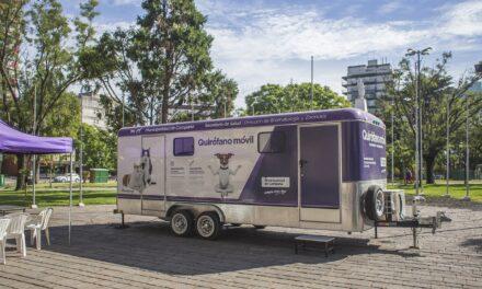 El Municipio prepara el regreso a los barrios del quirófano móvil
