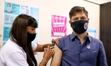 """Axel Kicillof sobre el inicio de la vacunación: """"Hoy se inicia el camino hacia la cura"""""""