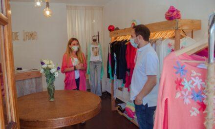 El Intendente acompañó la apertura del local de una reconocida emprendedora