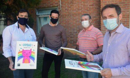 EDEN desarrolló una acción solidaria en el Hospital local