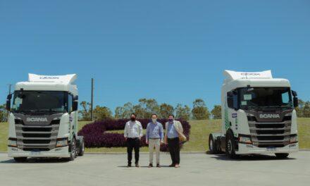 El Intendente visitó Qbox y conoció los primeros camiones que funcionan a gas en la Argentina