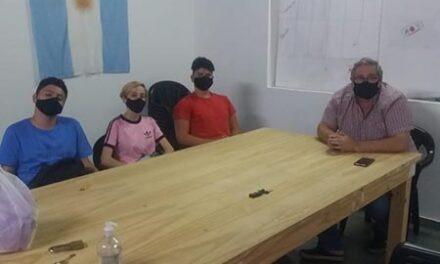 El Frente Grande de Campana se reunió con representantes estudiantiles de la ciudad