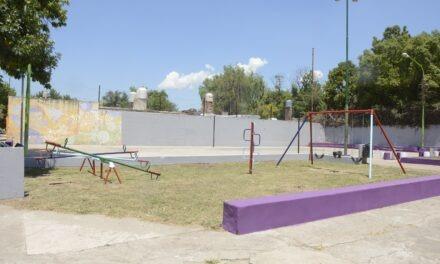 El Municipio sigue con la puesta en valor de los espacios públicos de la ciudad