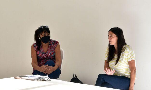 Elisa Abella se reunió con referentes de Barrios de Pie