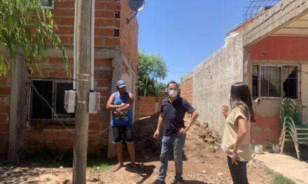 """El Intendente recorrió el """"21 de Septiembre"""" donde el Municipio ejecuta distintos trabajos"""