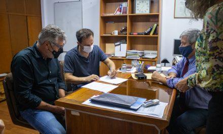 El Intendente se reunió con el Fiscal General y ratificó el compromiso de colaboración del CIMoPU con la Justicia