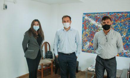 El Intendente visitó una nueva inmobiliaria que abrió en la ciudad