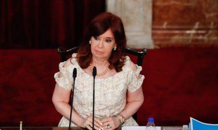 Cristina Kirchner renunció a su sueldo como vicepresidenta