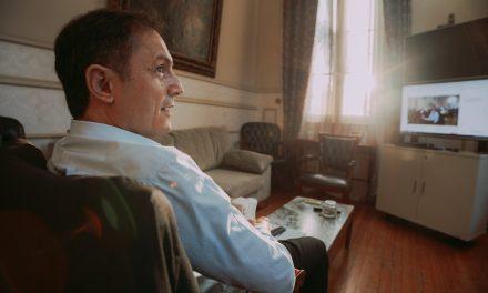 """""""Me pone muy feliz ser el intendente que después de 90 años le devolverá a la ciudad su mirada al río"""""""
