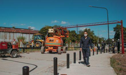 Avanzan los trabajos para la apertura del tránsito en la nueva Costanera