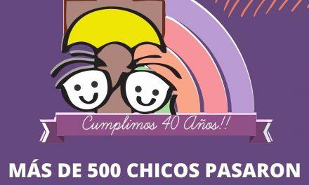 EL HOGAR DE LOURDES CUMPLE 40 AÑOS Y SIGUE SUMANDO VOLUNTADES