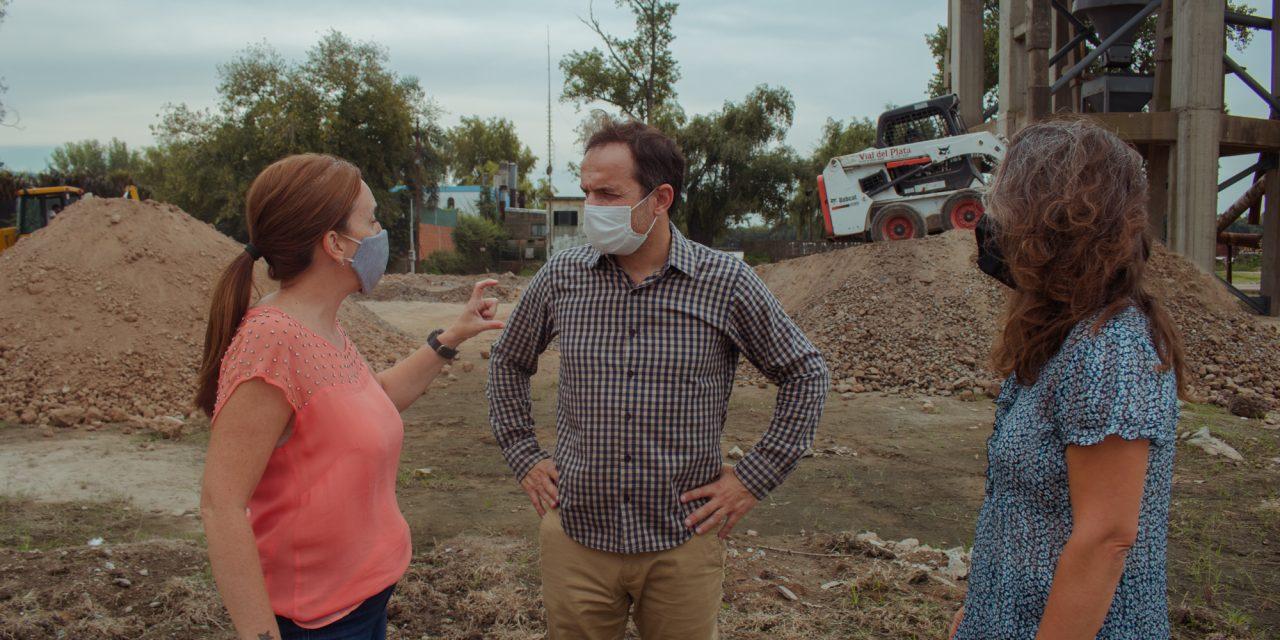 Nueva Costanera: comenzaron importantes obras en la zona de los silos