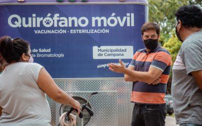 """Brutti: """"El quirófano móvil llegará a todos los barrios"""""""