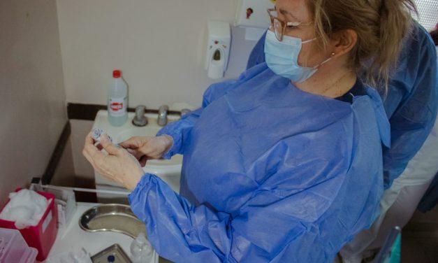 Desde el hospital negaron la llegada de nuevas vacunas contra el Covid-19