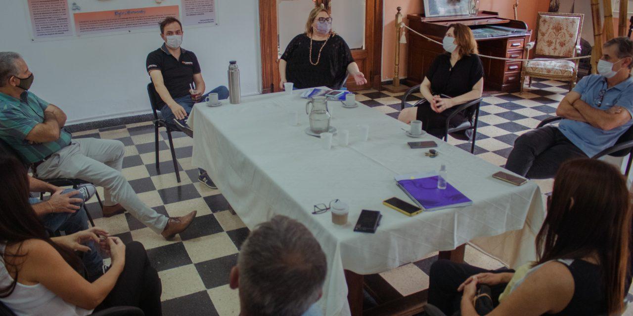 Abella y concejales de Juntos por el Cambio repasaron varios proyectos para la ciudad