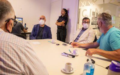 Funcionarios de Campana y Zárate se reunieron para acordar acciones conjuntas en materia de seguridad