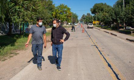 Otamendi: realizan importantes trabajos de mantenimiento integral en distintos puntos del barrio