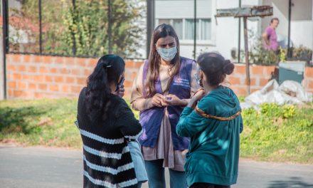 """Exitosa jornada del operativo """"Detectar Educación"""" en Otamendi"""