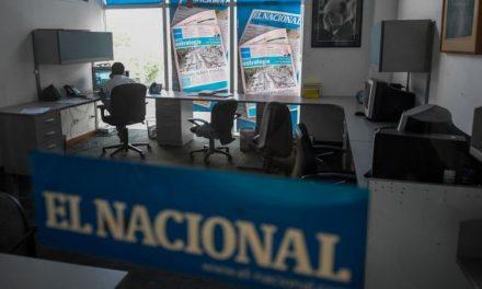 El gobierno de Nicolás Maduro embargó la sede del periódico venezolano El Nacional